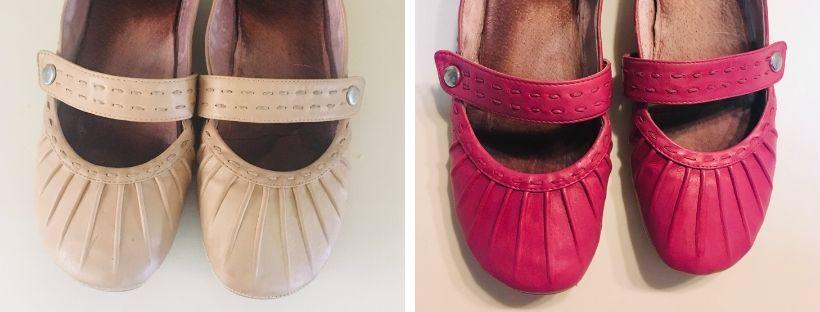 Jak obarvit kožené balerínky? Přebarvit jarní boty je snadné