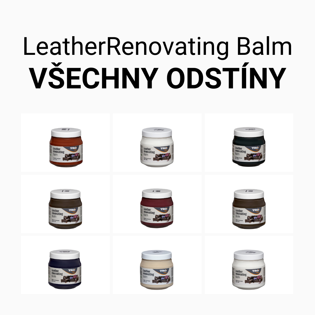 Krémy na kůži Leather Renovating Balm TRGtheone