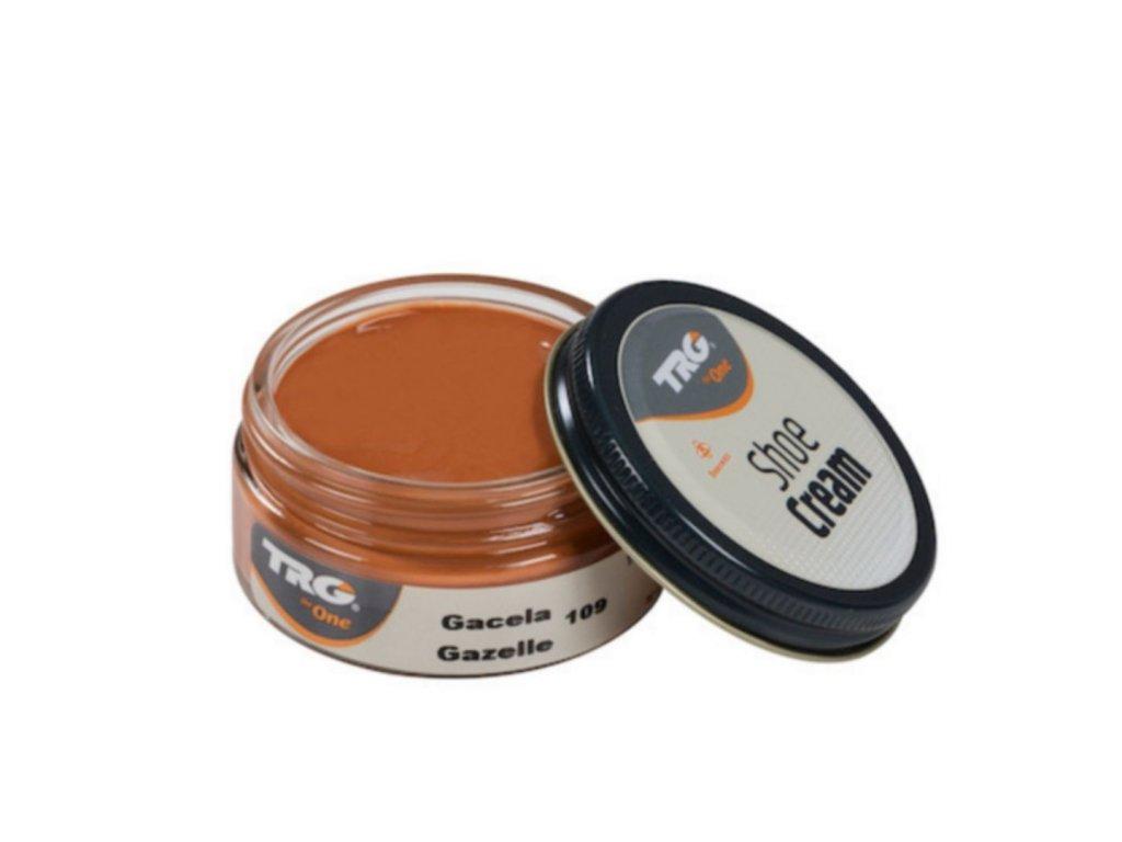 Oranžový Krém na boty Shoe Cream TRG Gazelle 109