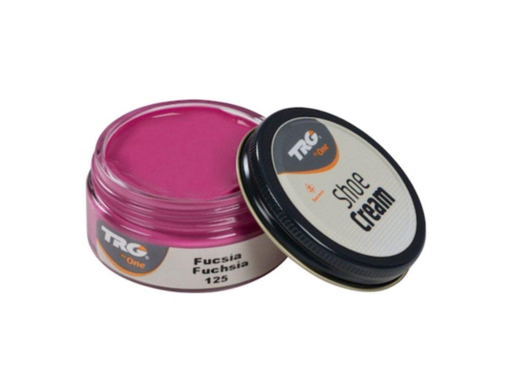 Růžový Krém na boty Shoe Cream TRG Fuchsia 125