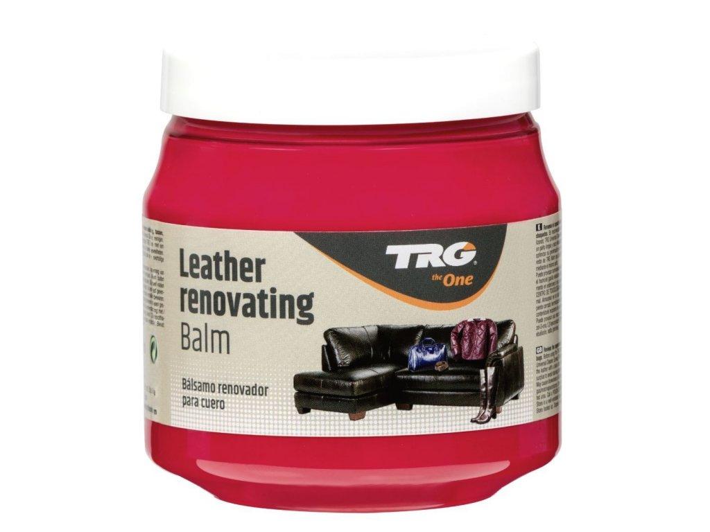 Červený Krém na kožené sedačky Leather Renovating Balm TRG Red 112 cerveny krem na kozene sedacky