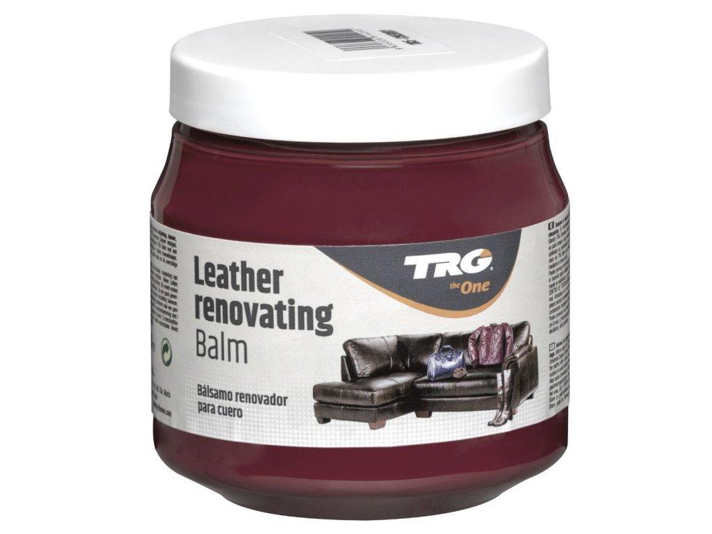 Červený Krém na kožené sedačky Leather Renovating Balm TRG Cherry 185