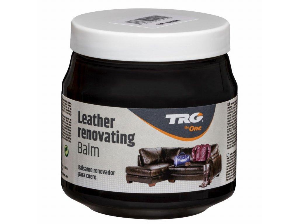 Černý Krém na kožené sedačky Leather Renovating Balm TRG Black 118