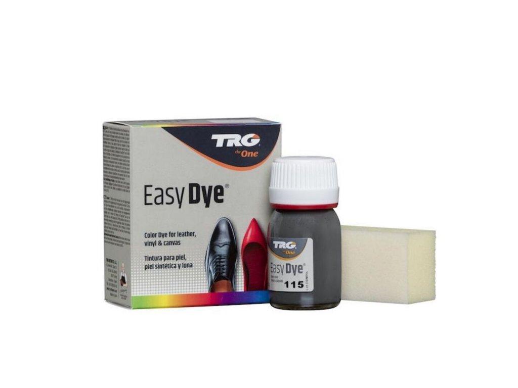 Šedá Barva na kůži Easy Dye TRG Dark Gray 115 tmave seda barva na boty obuvnicka barva trgtheone