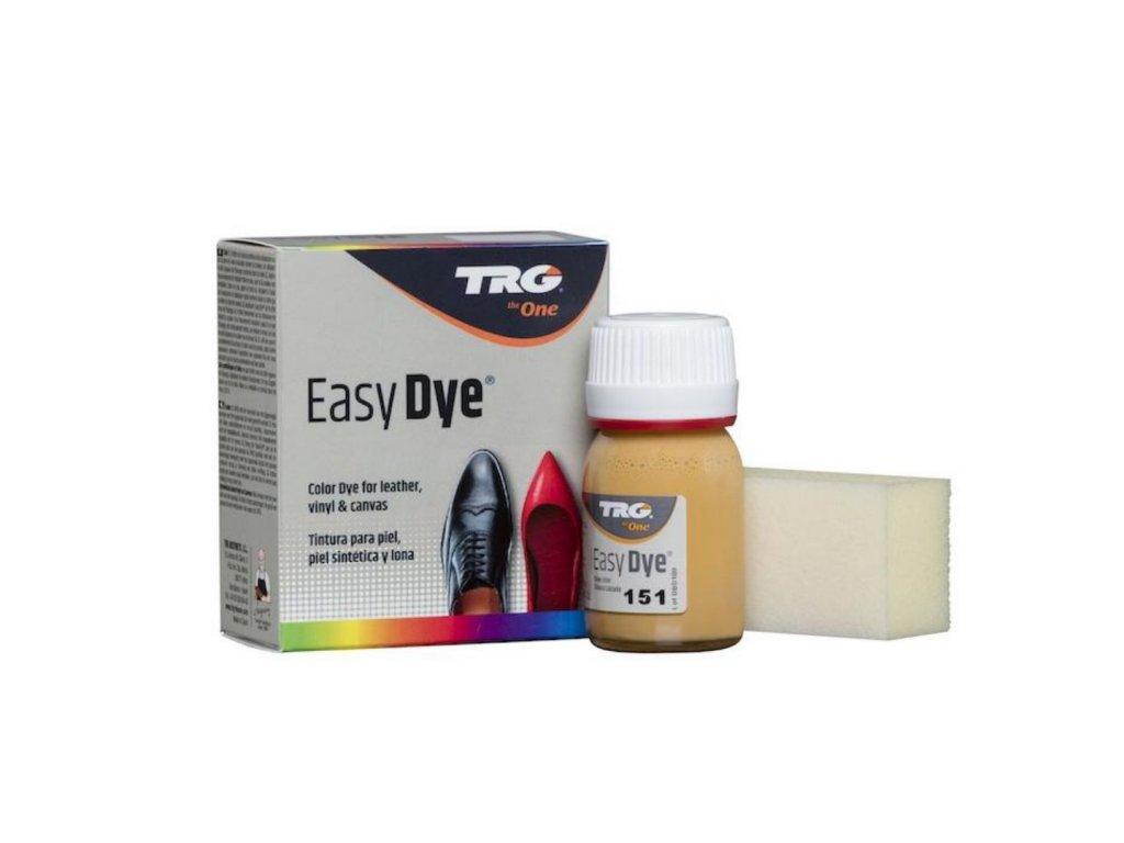Béžová Barva na kůži Easy Dye TRG Natural 151 bezova barva na kozene boty oprava renovace barveni bot