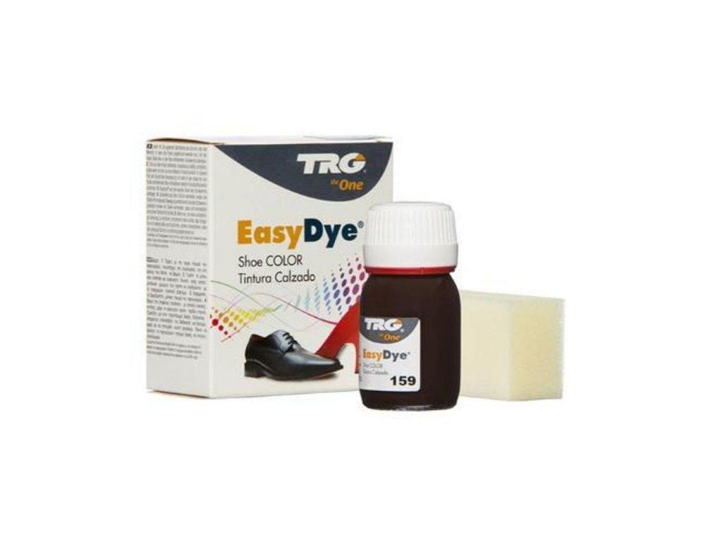 Hnědá Barva na kůži Easy Dye TRG Raisin 159 fialovo hneda barva na boty barveni bot na hnedo