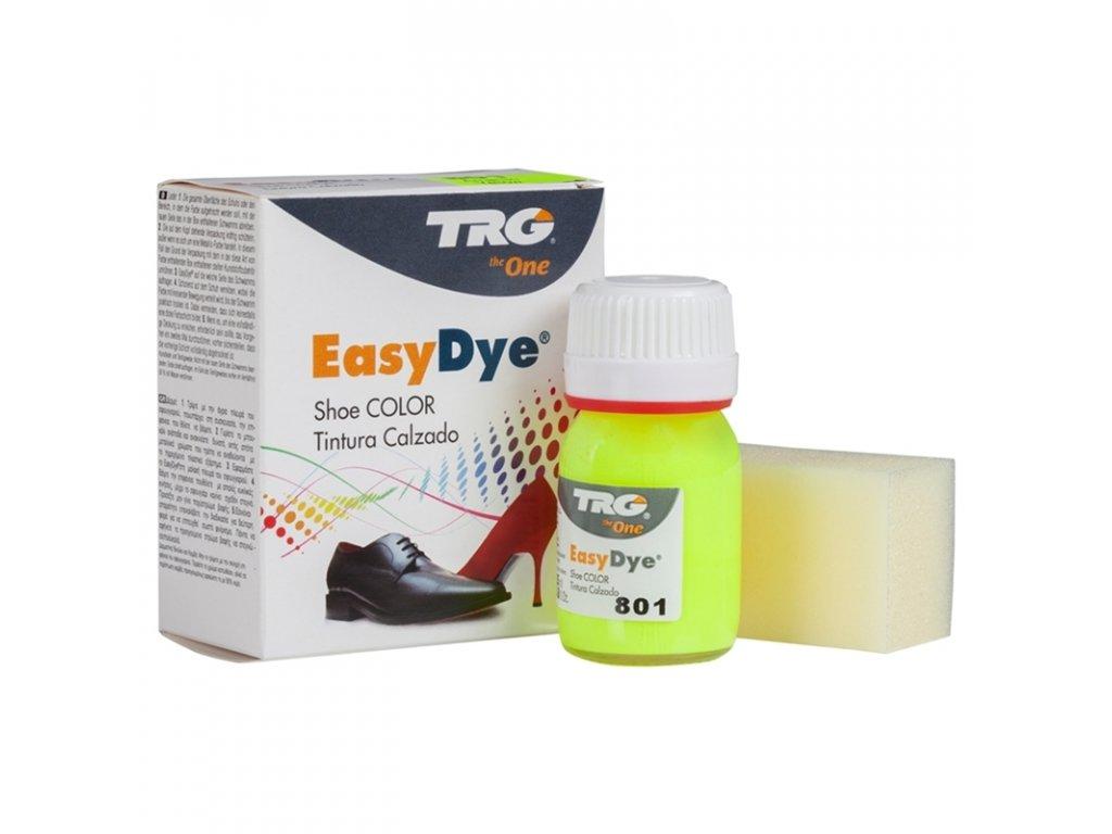 Žlutá Barva na kůži Easy Dye TRG Neon 801 neonova