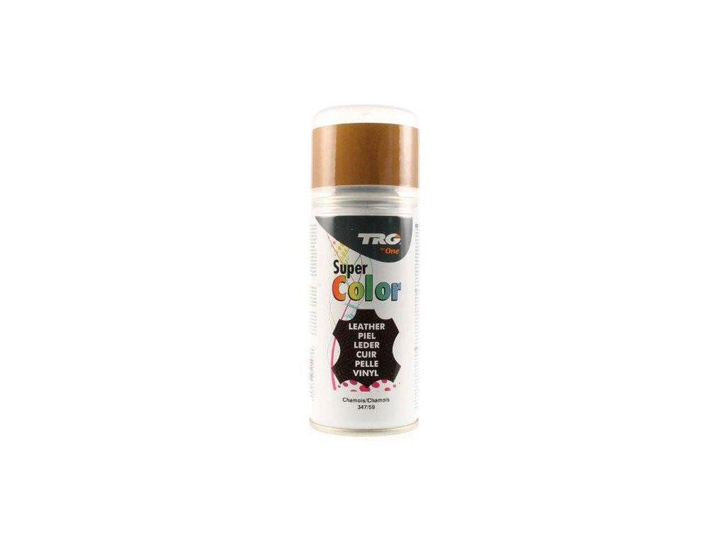Hnědá Barva na kůži ve spreji Super Color TRG Chamois 347