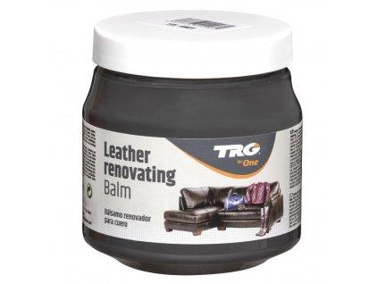 Šedý Krém na kožené sedačky Leather Renovating Balm TRG Grey 115