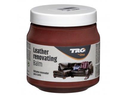 Hnědý Krém na kožené sedačky Leather Renovating Balm TRG Cognac 149