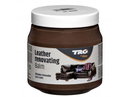 Hnědý Krém na kožené sedačky Leather Renovating Balm TRG Brown 139