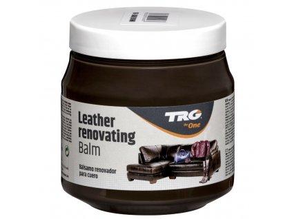 Tmavě Hnědý Krém na kožené sedačky Leather Renovating Balm TRG Dark Brown 106