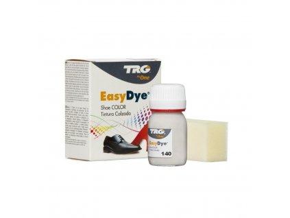 Bílo Šedá Barva na kůži Easy Dye TRG Ice 140 barva na boty trg the one boty jako nove