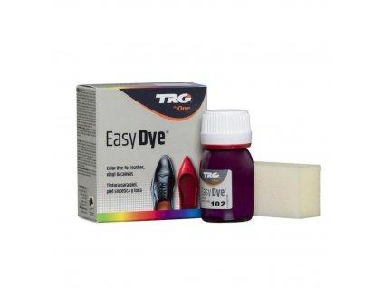 Tmave Fialová Barva na kůži Easy Dye TRG Dark Lilac 102 tmave fialova barva na boty