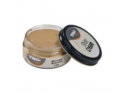 Béžový Krém na boty Shoe Cream TRG Biscuit 104