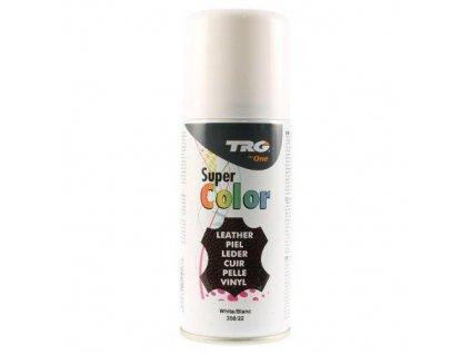 Bílá Barva ve spreji Super Color TRG White 358 bily sprej na boty trg the one