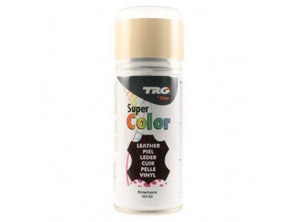 Béžová Barva na kůži ve spreji Super Color TRG Bone 351 bezovy sprej na boty