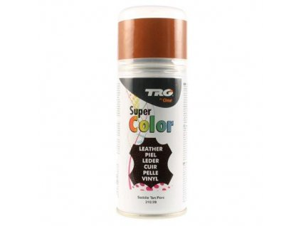 Hnědá Barva na kůži ve spreji Super Color TRG Saddle Tan 310
