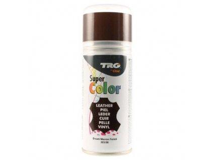 Hnědá Barva na kůži ve spreji Super Color TRG Brown 303