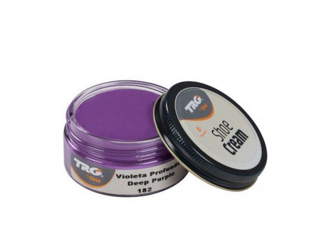 Fialový Krém na boty Shoe Cream TRG Deep Purple 182 fialovy krem na boty