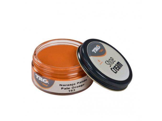 Oranžový Krém na boty Shoe Cream TRG Pale Orange 163