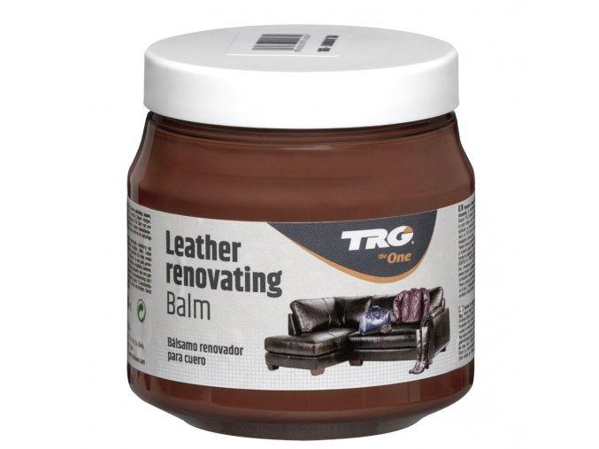 Hnědý Krém na kožené sedačky Leather Renovating Balm TRG London Tan 186