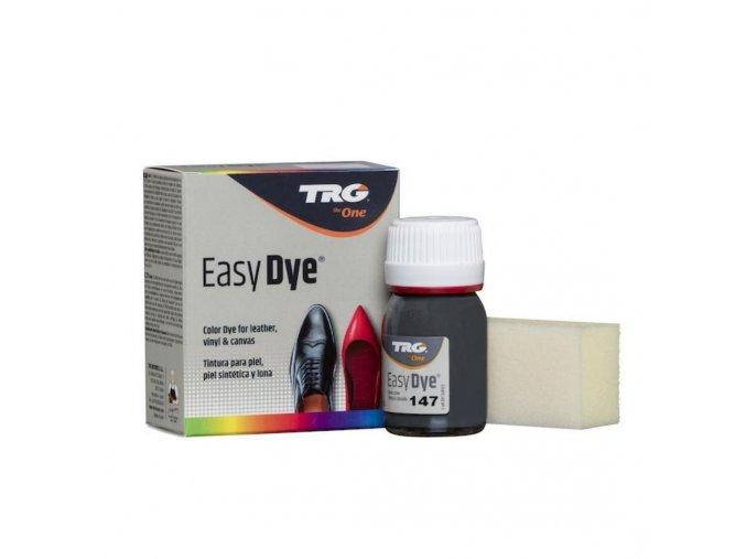 Šedá Barva na kůži Easy Dye TRG Gray Lava 147 barva na bot seda obuvnicka barva