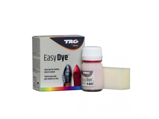 Růžová Barva na kůži Easy Dye TRG Mauve 143 svetle růžova barva na boty kožené boty koženku plátno tenisky