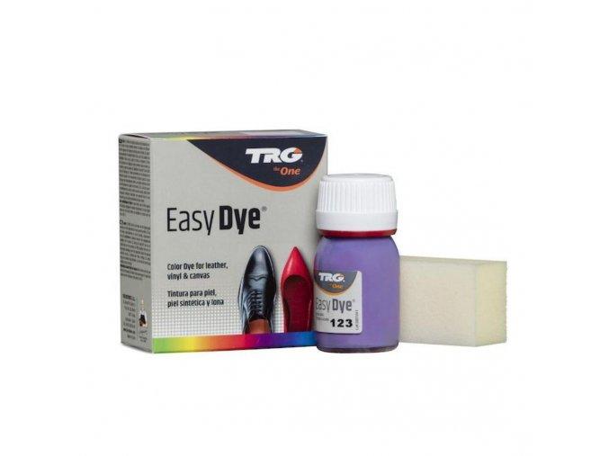Fialová Barva na kůži Easy Dye TRG Purple 123 oprava fialovych bot renovace fialove kuze