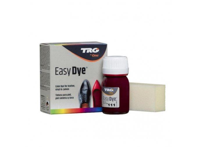 Bordó fialová Barva na kůži Easy Dye TRG Bordeaux 111 bordo barva na kozene boty