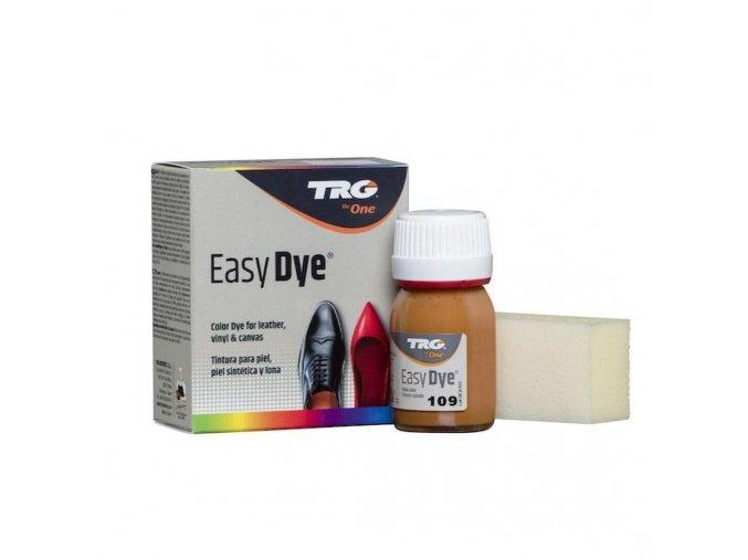 Béžová Barva na kůži Easy Dye TRG Gazelle 109 hnedo oranzova barva na boty