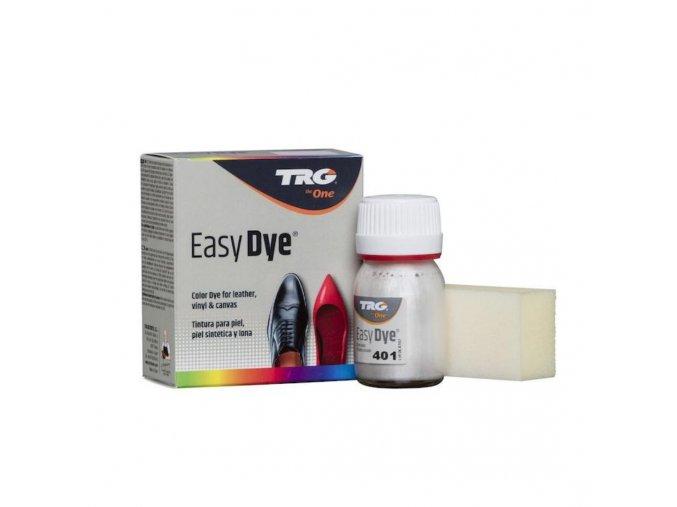 Stříbrná Barva na kůži Easy Dye TRG Silver 401 stribrna barva na kozene boty barveni bot stribrnou barvou
