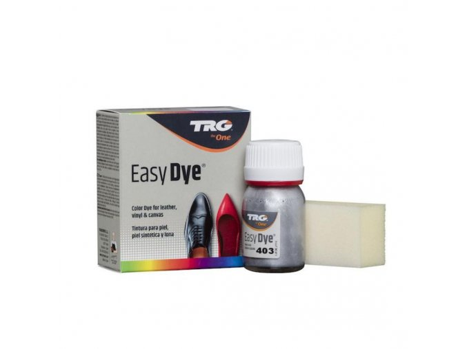 Stříbrná Barva na kůži Easy Dye TRG Antic Silver 402 stribrne barvy na barveni kozenych bot kozenka boty jako nove