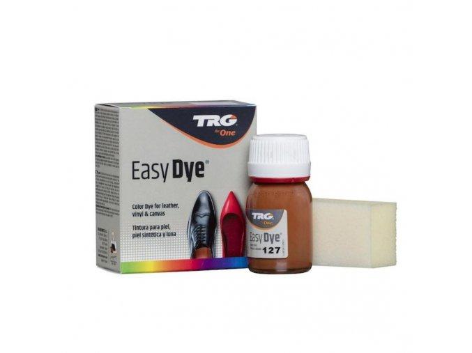 Hnědá Barva na kůži Easy Dye TRG Mango 127 oranzovo hneda barva na boty
