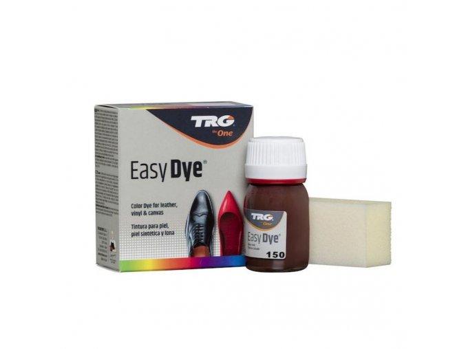 Hnědá Barva na kůži Easy Dye TRG Mahagony 150 mahagonova mahagonove hneda barva na boty kozene boty kozenku platno