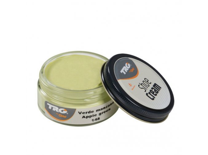 Zelený Krém na boty Shoe Cream TRG Apple Green 148