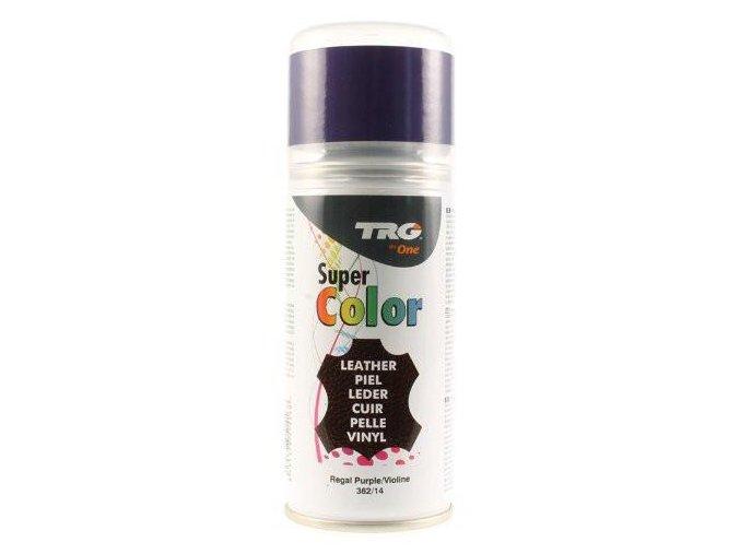 Fialová Barva na kůži ve spreji Super Color TRG Regal Purple 362 fialova barva ve spreji na boty