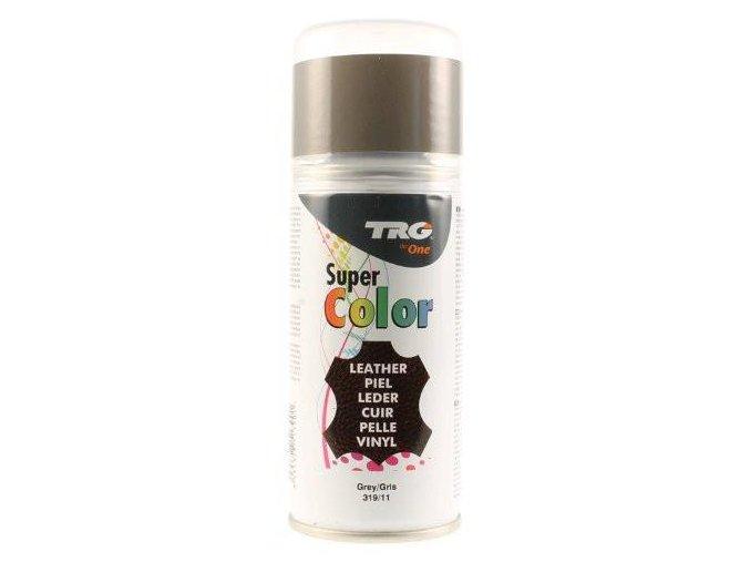 Šedá Barva na kůži ve spreji Super Color TRG Gray 319