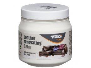 Bílý Krém na kožené sedačky Leather Renovating Balm TRG White 101