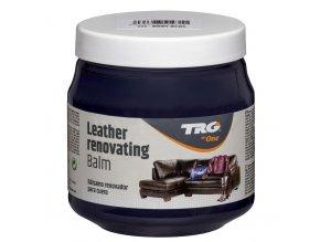 Modrý Krém na kožené sedačky Leather Renovating Balm TRG Navy Blue 117