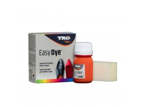 Oranžová Barva na kůži Easy Dye TRG Orange 128 barva na obuv boty obuvnicke platno kozenku