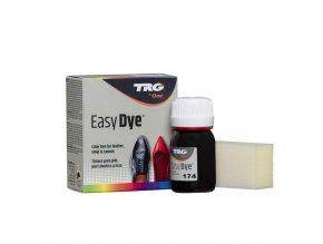 Hnědá Barva na kůži Easy Dye TRG Deep Brown 174 barva na boty tmave hneda obuvnicka barva