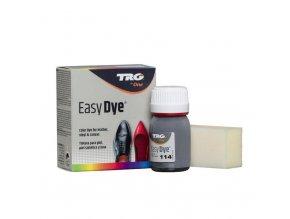 Šedá Barva na kůži Easy Dye TRG Light Gray 114 seda barva na boty obuvnicka barva na sede boty barveni bot na sedo