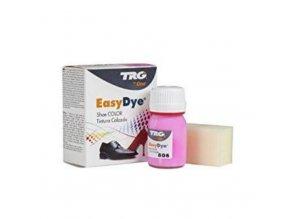 Růžová Barva na kůži Easy Dye TRG Neon 806 neonova barva na boty