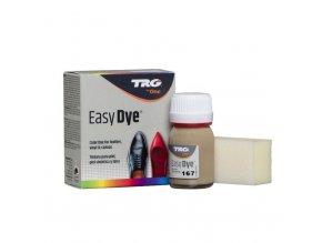 Béžová Barva na kůži Easy Dye TRG Dark Beige 167 tmave bezova barva na boty
