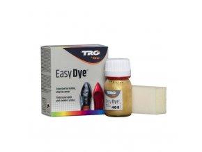Zlatá Barva na kůži Easy Dye TRG Gold 405 zlate obuvnicke barvy na boty barveni bot do zlata