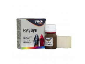 Hnědá Barva na kůži Easy Dye TRG Pony 105 tmave hnede barvy na boty
