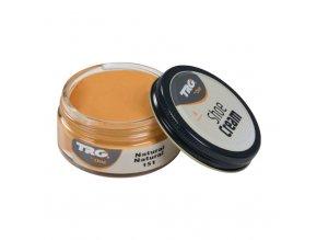 Béžový Krém na boty Shoe Cream TRG Natural 151