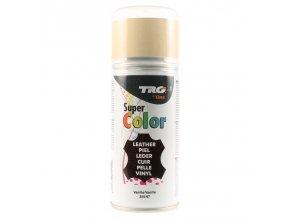 Béžová Barva na kůži ve spreji Super Color TRG Vanilla 355 bezovy sprej na boty
