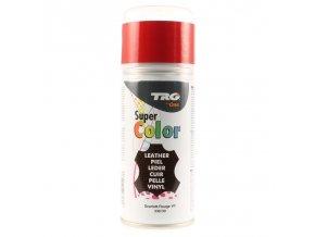 Červená Barva na kůži ve spreji Super Color TRG Scarlett 349 barva ve spreji cerveny sprej na boty